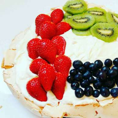 Pavlova, How to make Pavlova