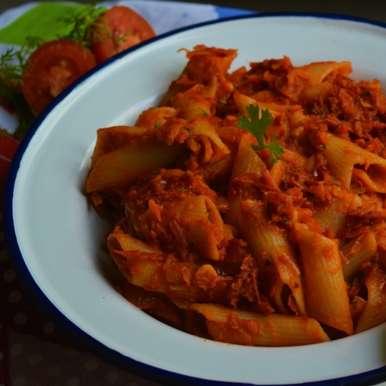 Photo of Red Sauce Pasta by Femina Shiraz at BetterButter