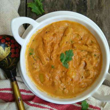 Photo of Baby corn capsicum curry by Femina Shiraz at BetterButter