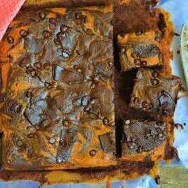 Photo of Chocolate Orange Brownies with healthy twists by Femina Shiraz at BetterButter