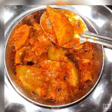 Citrus lemon pickle recipe in Telugu,దబ్బ కాయ ఆవకాయ, Gadige Maheswari