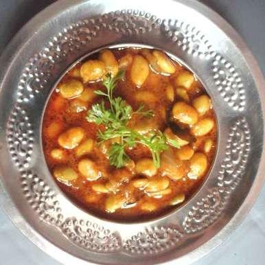 Beans curry recipe in Telugu,అనపకాయ కర్రీ, Gadige Maheswari