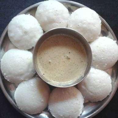 Idly recipe in Telugu,ఇడ్లీలు (బియ్యం తో), Gadige Maheswari