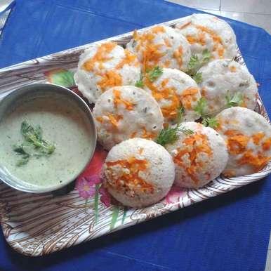 Barley Idli recipe in Telugu,బార్లీ తో ఇడ్లీలు, Gadige Maheswari