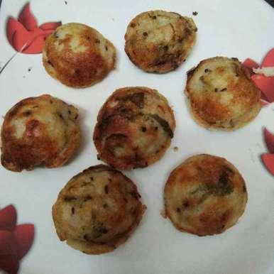 Tasty buds recipe in Telugu,గుంట పొంగనాలు, Ganeprameela
