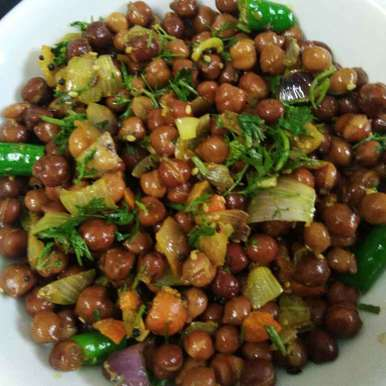 Photo of Chick pea chat by Ganeprameela  at BetterButter