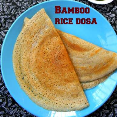 Photo of Bamboo Rice Dosa Recipe /Moongil Arisi Dosai by Gayathri Ramanan at BetterButter