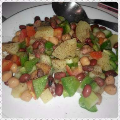 Photo of Kidney beans and Chana Salad by GAZAL UPVEJA at BetterButter