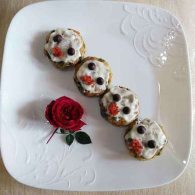 Photo of Patties with Valentine's by Geeta Biswas at BetterButter