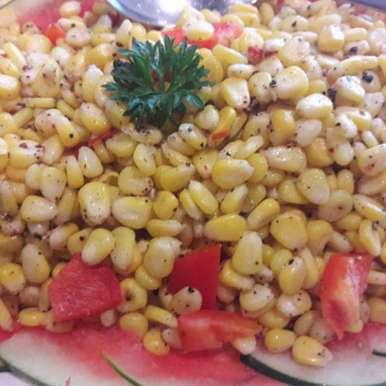 Photo of Corn chat by Geeta Khurana at BetterButter