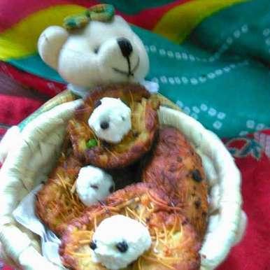 Photo of Potato nest /aalu ka ghonsla by Geeta Sachdev at BetterButter