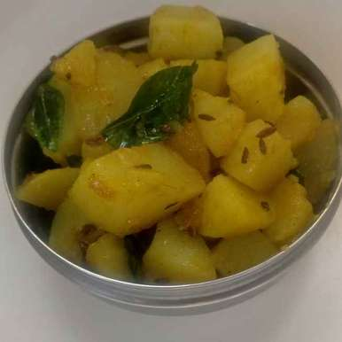 Photo of Curry leaves aloo by Geeta Virmani at BetterButter