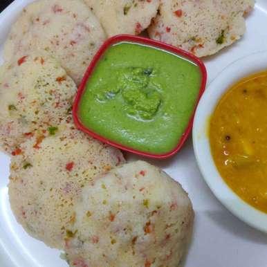 Photo of Vegetable idli by Geeta Virmani at BetterButter