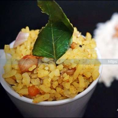 Photo of Aval/Poha Upma by Gouthami Yuvarajan at BetterButter