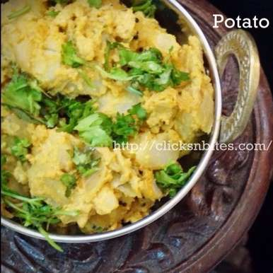 Photo of Potato Peanut Milk Curry by Gouthami Yuvarajan at BetterButter