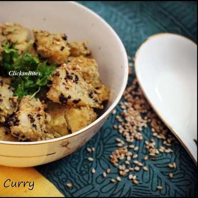 Photo of Plaintain Sesame Curry by Gouthami Yuvarajan at BetterButter