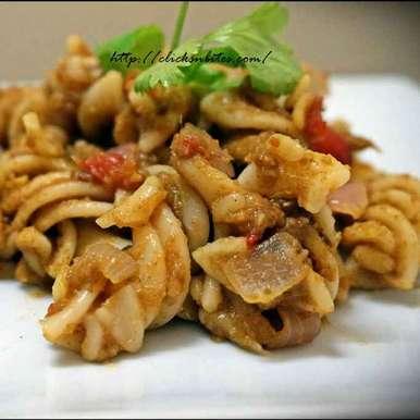 Photo of Coriander Dal Pasta by Gouthami Yuvarajan at BetterButter