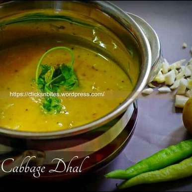 Photo of Tangy Lemony Cabbage Daal  by Gouthami Yuvarajan at BetterButter