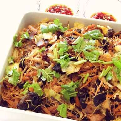 Photo of Tofu and Rice Vermicelli Noodles by Shaheda Tabish at BetterButter