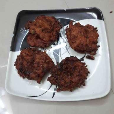 Onion vadai recipe in Tamil,வெங்காய வடை, hajirasheed haroon