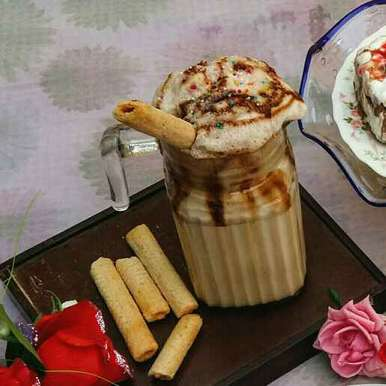 Photo of Salted Caramel Milkshake by Hameed Nooh at BetterButter