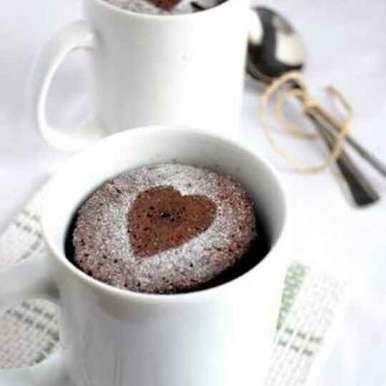 Photo of Yummy chocolate Peanut butter mug cake by Lavanya Polimera at BetterButter