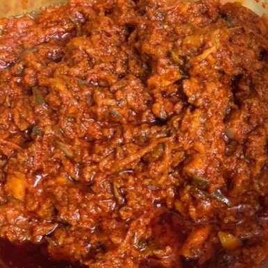 Pesaravakaya recipe in Telugu,పెసరావకాయ, Harini Balakishan