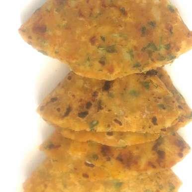 Aloo methi paratha recipe in Telugu,ఆలూ మేథీ పరాఠా, Harini Balakishan