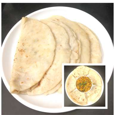 Photo of WHITE POORAN POLI ( WHITE PARATHAS) by Harini Balakishan at BetterButter