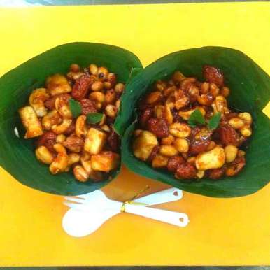 Photo of Paneer dry fruits chat by Harsha Israni at BetterButter