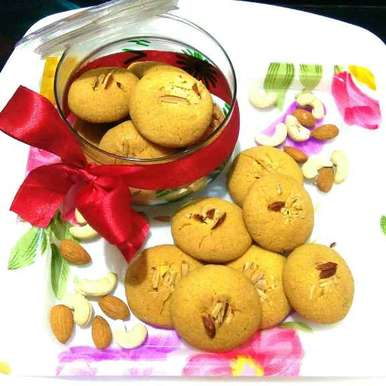 Photo of Dry Fruits Masala Cookies by Harsha Israni at BetterButter