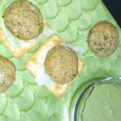 Photo of Kebabs with Minty dip by Harshi Thakkar at BetterButter