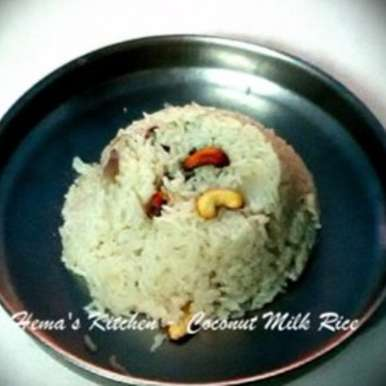 Photo of Coconut Milk Rice by Hema Shakthi at BetterButter