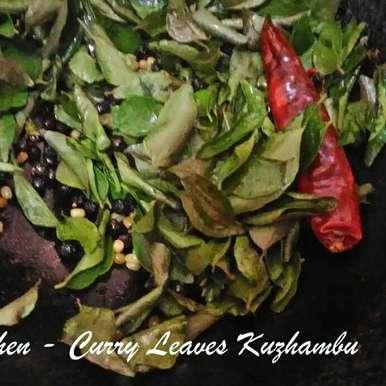 Photo of Kariveppilai (Curry Leaves) Kuzhambu by Hema Shakthi at BetterButter