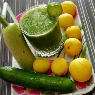 Green smudhi recipe in Gujarati, ગ્રીન સ્મુધી, Hetal Sevalia