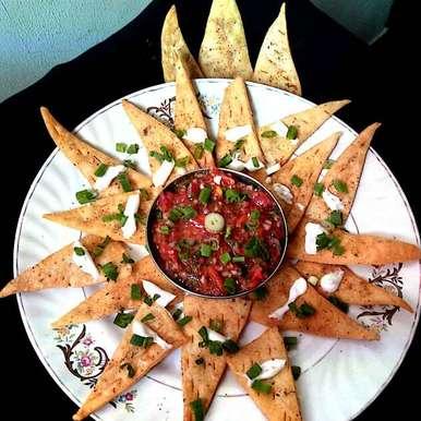 Photo of Pizza Mathri by Hetal Sevalia at BetterButter