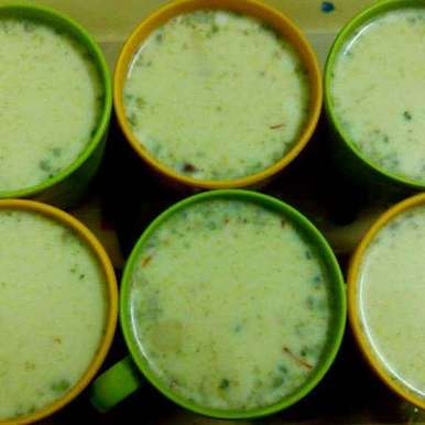 Photo of Kesar Pista Milk by Hetal Shah at BetterButter