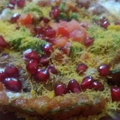 Photo of spinach pakora chaat by Hiral Pandya Shukla at BetterButter