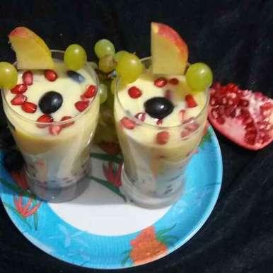 Mixed Fruit Custard