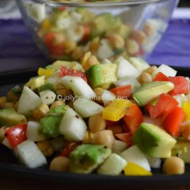 Photo of Summer Blast Salad with Avocado by Jolly Makkar at BetterButter