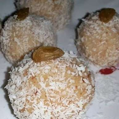 Photo of 15 Minutes Coconut-Almond Ladoo by Jolly Makkar at BetterButter