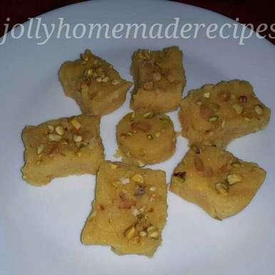 Photo of Mango Coconut Fudge Recipe by Jolly Makkar at BetterButter
