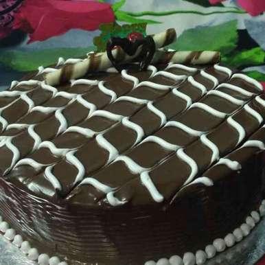 Photo of BANANA Walnut Chocolate Cake by Honey Lalwani at BetterButter