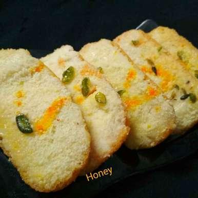 Chhena toast recipe in Hindi,छेना टोस्ट, Honey Lalwani
