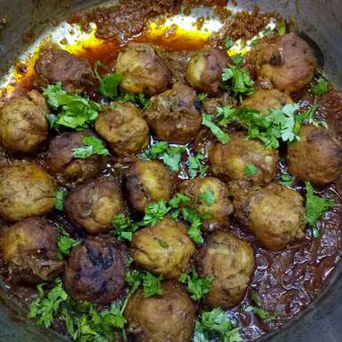 2b8f8d5eacc Chicken Kofta Curry Recipe, How to make Chicken Kofta Curry Recipe ...