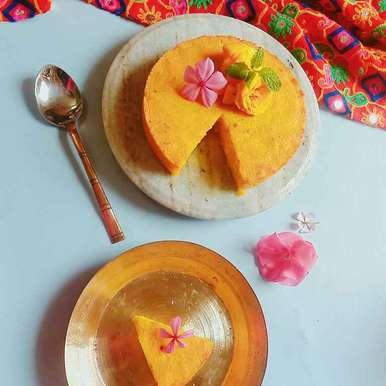 Mango chhena poda(Roasted mango cheese cake), How to make Mango chhena poda(Roasted mango cheese cake)