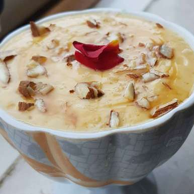 Photo of Mango sri khand by Indira Bhaskar at BetterButter