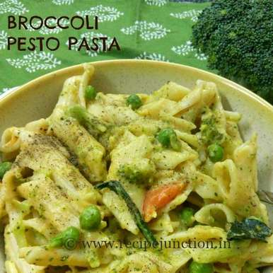 Photo of Broccoli Pesto Pasta by Indrani Dhar at BetterButter