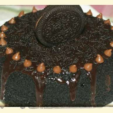 Photo of 5 minute Oreo cake with Ganache by Indrani Sarma at BetterButter