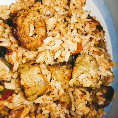 Photo of Spiced Chicken Sausage Pulao by Indrani Sarma at BetterButter